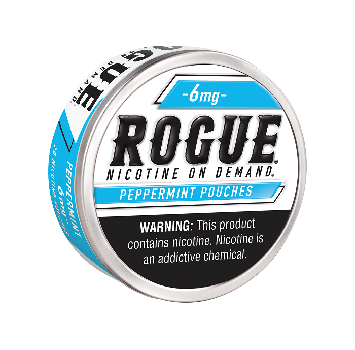 Rogue peppermint nicotine pouch 6mg 5ct