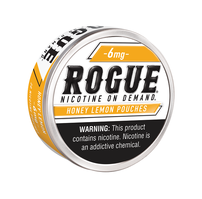 Rogue honey lemon nicotine pouch 6mg 5ct