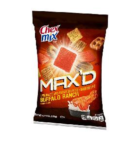 Chex mix buffalo ranch maxd 8ct 4.25oz