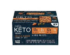 Keto toasted almond ratio bar 12ct