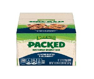 Nature valley almond butter blueberry packed 12ct