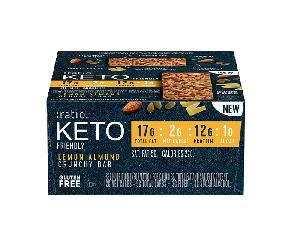 Keto lemon almond ratio bar 12ct