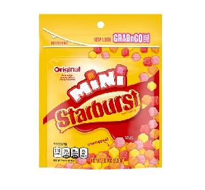 Starburst minis stand up bag 8oz