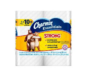 Charmin strong essential bathroom tissue 4ct