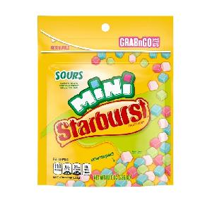 Starburst minis sours stand up bag 8oz