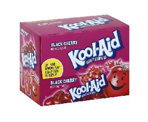 Kool-aid black cherry 48ct