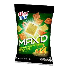 Chex mix spicy dill maxd 8ct 4.25oz